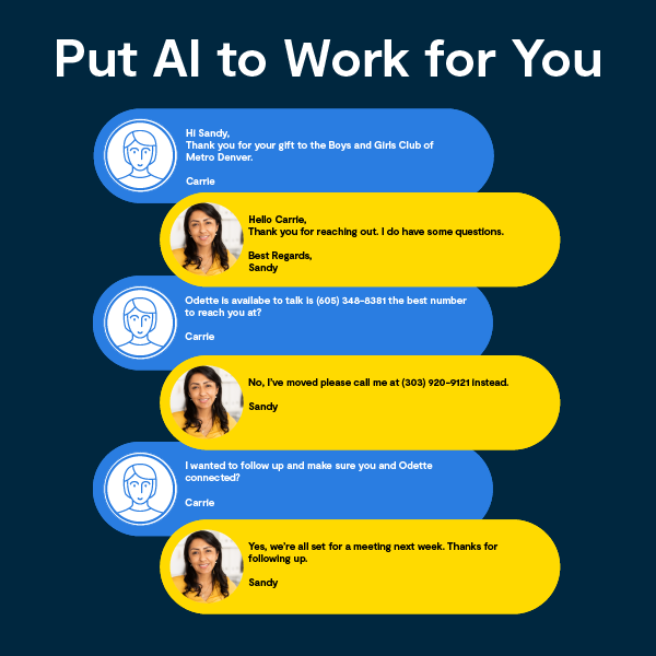 Put AI to Work for You